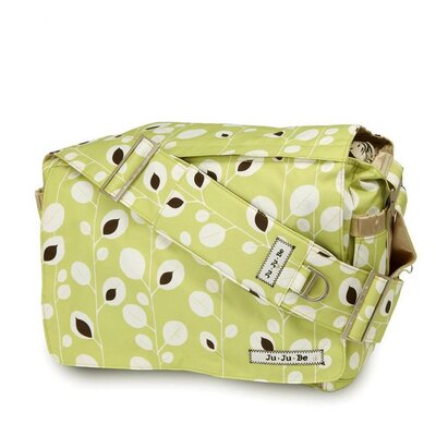 Ju Ju Be Be All Messenger Diaper Bag in Morning Vines