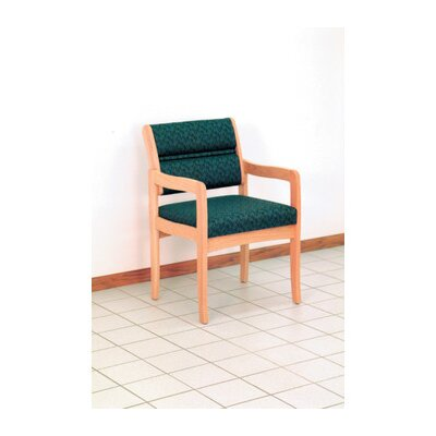 Wooden Mallet Valley Standard Leg Guest Chair- Designer Fabric