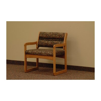 Wooden Mallet Valley Bariatric Guest Chair- Designer Fabric