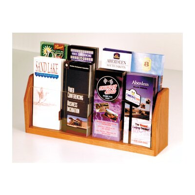 Wooden Mallet Countertop Eight Pocket Brochure Display