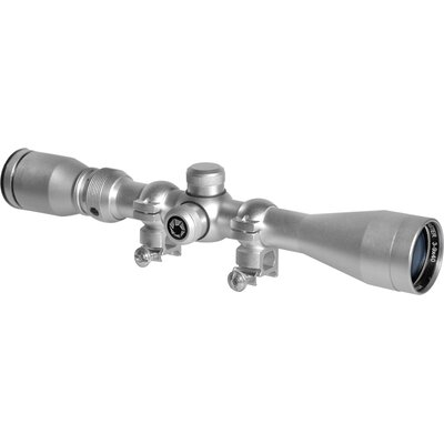 3-9x40 Huntmaster Riflescope, Silver, 30/30, 5/8