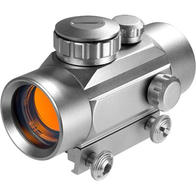 30mm Red Dot Riflescope, Silver Color, 5/8