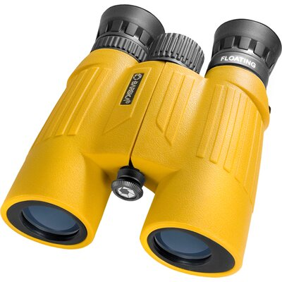 910x30 WP Floatmaster Binoculars, Floats, Blue Lens, Yellow