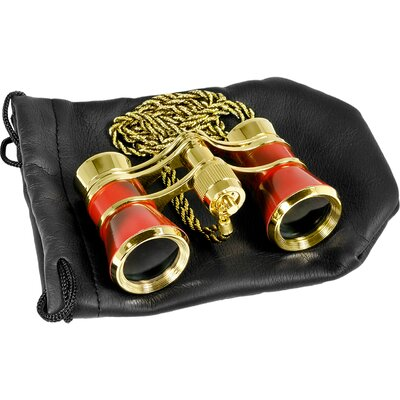 Barska 3x25 Blueline Binoculars Opera Glass with Necklace