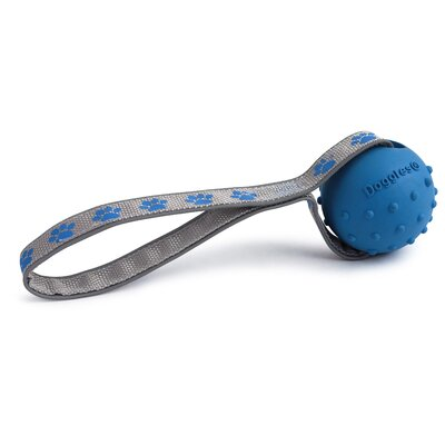 Doggles Toss-N-Tug Dog Toy in Blue