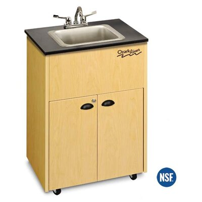 Ozark River Portable Sinks Premier Single Bowl Portable Sink