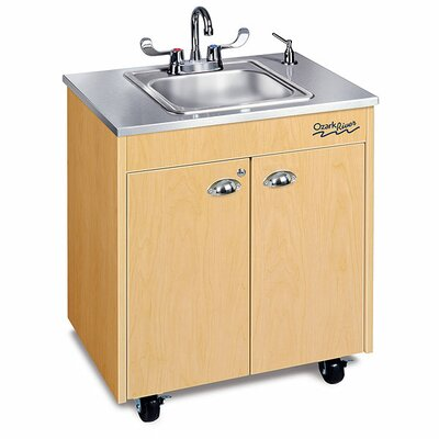Ozark River Portable Sinks Silver Lil' Premier 1 Portable Hand-Washing Station NSF Certified
