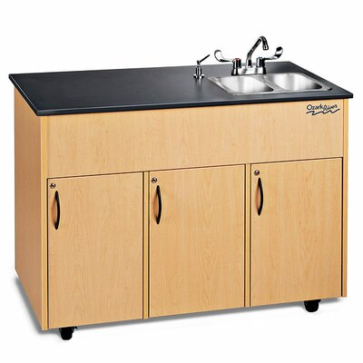 Ozark River Portable Sinks Advantage 2 Portable Hand Washing Station NSF Certified with Storage Cabinet