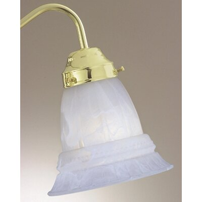 "Savoy House 4.63"" x 5.5"" Ceiling Fan Light Glass Shade in Light Steel Blue"