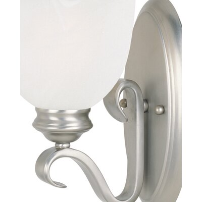 Savoy House Willoughby 1 Light Wall Sconce in Pewter