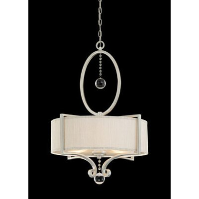 Savoy House Rosendal 3 Light Drum Pendant Sparkle