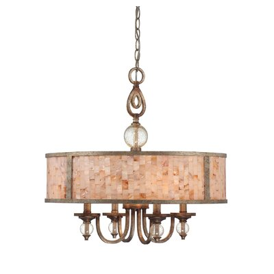 Savoy House Acacia 4 Light Drum Pendant