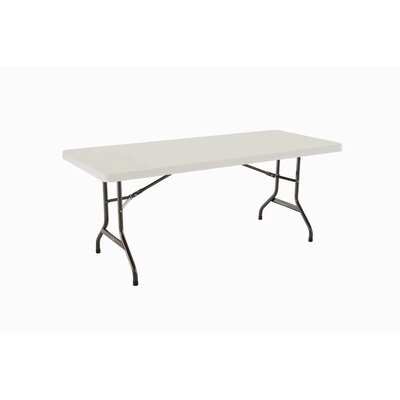 6' Commercial Grade Table in White
