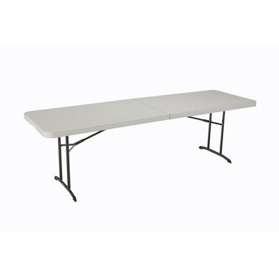 Lifetime 8' Fold-in-Half Table in Almond