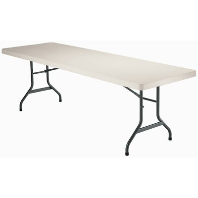 8' Commercial Grade Table in White