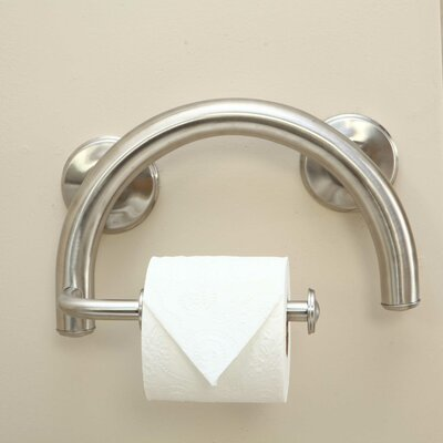Lifetime Grabcessories 2-in-1 Toilet Paper Holder and Grab Bar