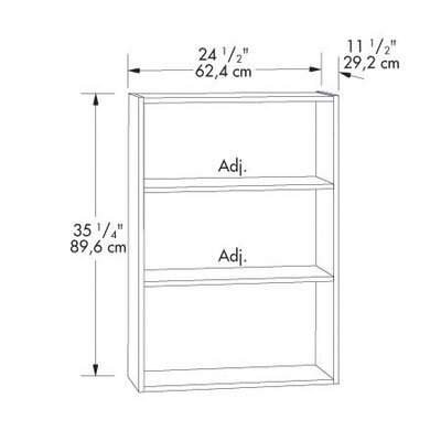 Sauder Beginnings Bookcase