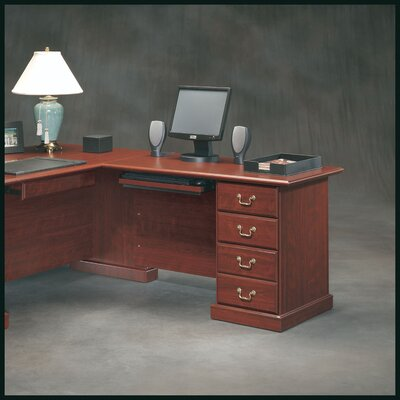 "Sauder Heritage Hill 30"" H x 47.5"" W Reversible Desk Return"