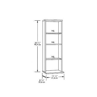 Sauder Beginnings Multimedia Storage Tower