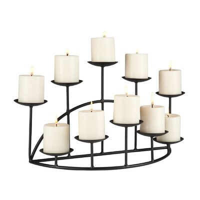 Wildon Home ® Pocatello Ten Candle Candelabra Set