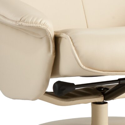Wildon Home ® Jennings Ergonomic Recliner with Ottoman