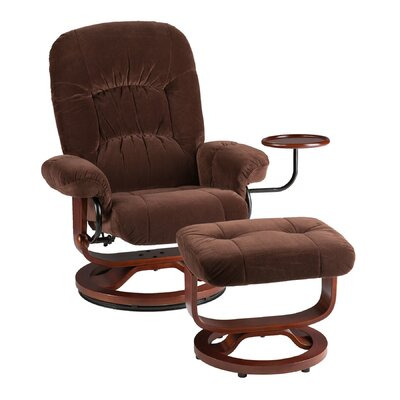 Wildon Home ® Brennan Recliner and Ottoman
