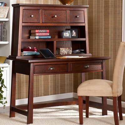 Wildon Home ® Laurent Writing Desk with Hutch