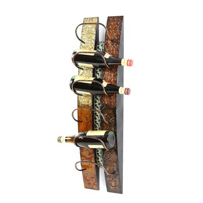 Wildon Home ® Catania 6 Bottle Wall Mounted Wine Rack