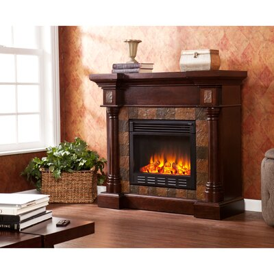 Wildon Home ® Clark Convertible Slate Electric Fireplace