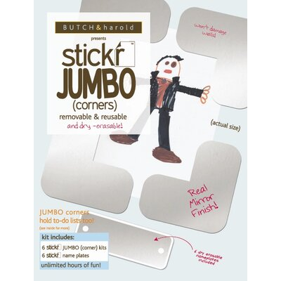 BUTCH & harold Stickr Jumbo (Corners) - Set of Six