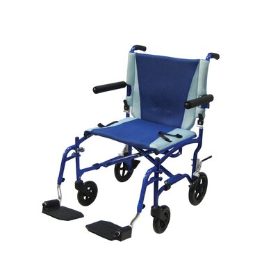 Aluminum TranSport Chair in Blue