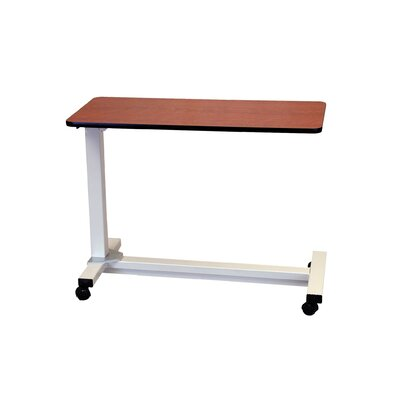 Drive Medical Bariatric Heavy Duty Overbed Table in Oak
