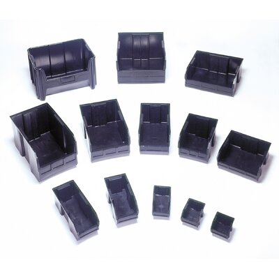"Quantum Storage Recycled Ultra Series Bins (4"" H x 4 1/8"" W x 10 7/8"" D)"
