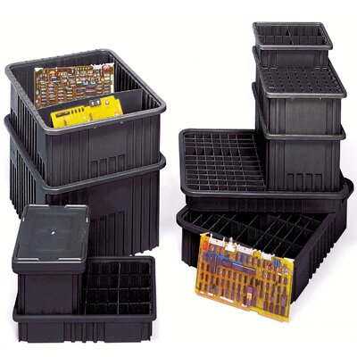 Quantum Storage Conductive Dividable Grid Storage Containers (3&quot; H x 17 1/2&quot; W x 22 1/2&quot; D)