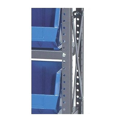 "Quantum Storage 12"" Giant Open Hopper Shelf Storage System"