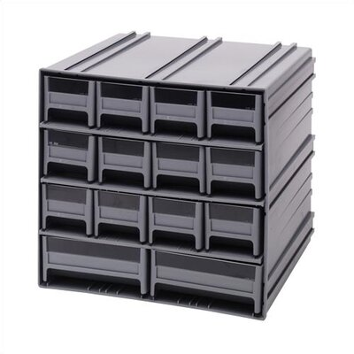 Quantum Storage 14 Drawer Interlocking Storage Cabinet