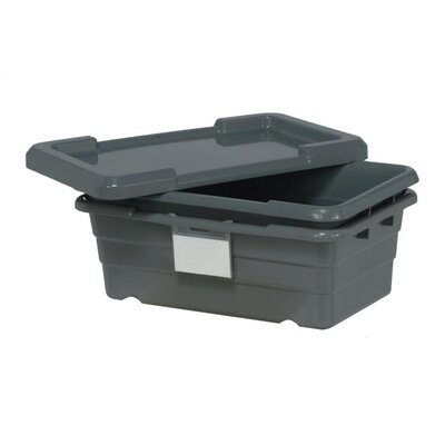 "Quantum Storage Cross Stack Tub Lids (17"" L x 11"" W) 6 Piece Set"