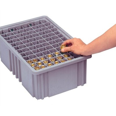 Quantum Storage Dividable Grid Storage Container Short Divider for DG93080