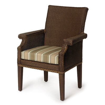 Lloyd Flanders Hamptons Dining Arms Chair with Cushion