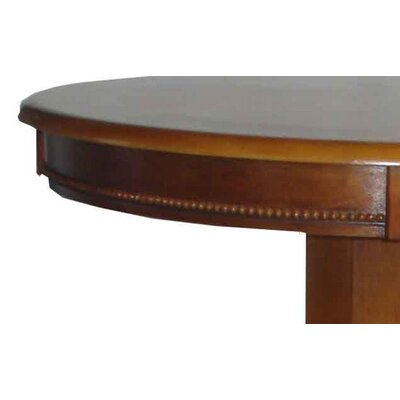 Boraam Industries Inc Florence Pedestal Pub Table in Brush Oak