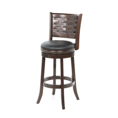 "Boraam Industries Inc Sumatra 29"" Bar Stool in Cappuccino"