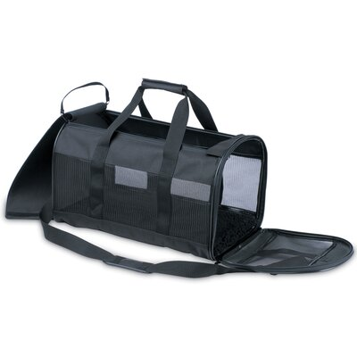 Soft Side Kennel Cab Pet Carrier in Black