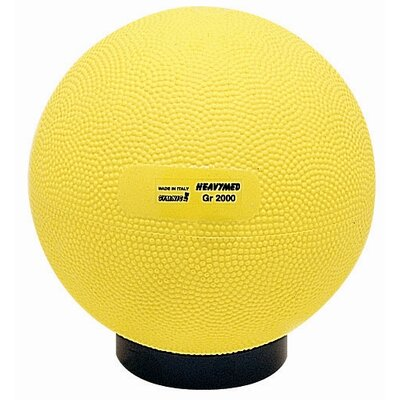 "Gymnic 6"" Heavymed Ball in Yellow"