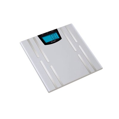 Escali Body Fat, Body Water and Muscle Mass Bathroom Scale