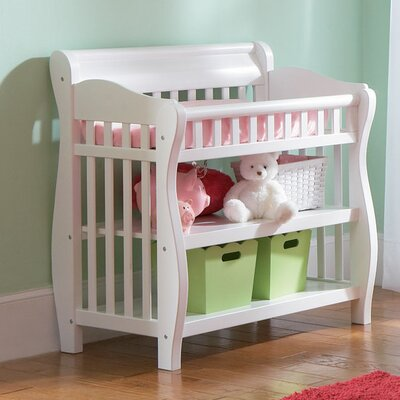 Atlantic Furniture Versailles Knock Down Changing Table