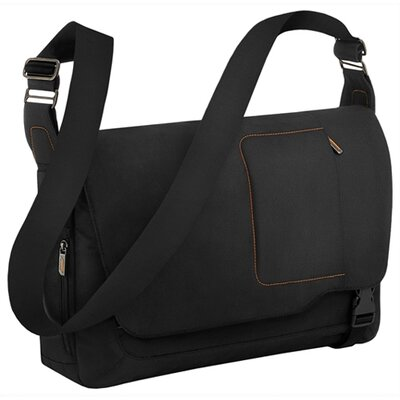 Briggs & Riley Verb Grow Expandable Messenger Bag in Black
