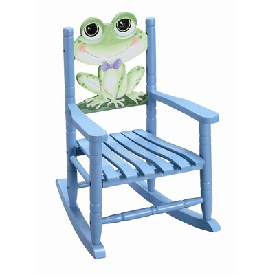 Teamson Kids Sunny Safari Frog Kid's Rocking Chair