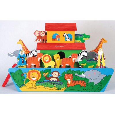 Teamson Kids Toy Workshop Giant Noah's Ark