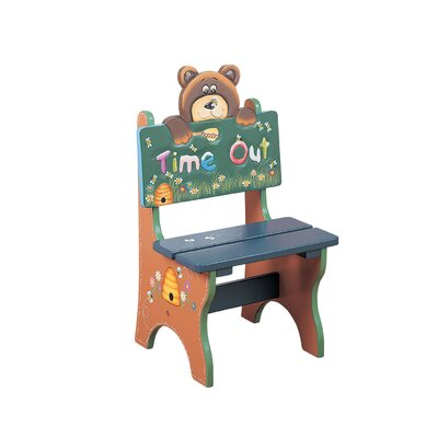 Teamson Kids Safari Time Out Bear Kid's Desk Chair