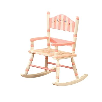 Teamson Kids Bouquet Girl's Kid's Rocking Chair